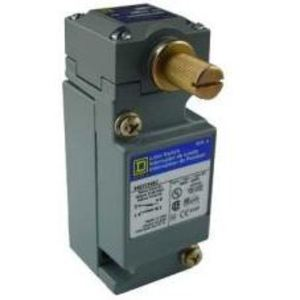 Square D 9007C54B2 Limit Switch, 10A, 600VAC, 2.5A, 600VDC, Side Rotary Head, 1NO/NC