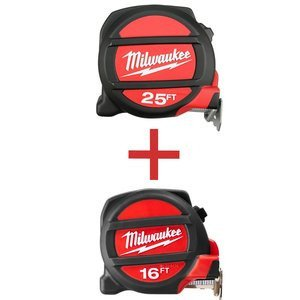 Milwaukee 48-22-5125H Magnetic Tape Measure