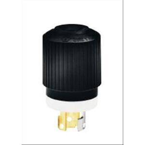 Hubbell-Bryant 4770NP Lkg Plug, 15a 277v, L7-15p, B/w