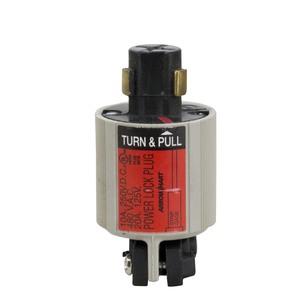 Leviton 23034-A Locking Plug, 20A, 125V