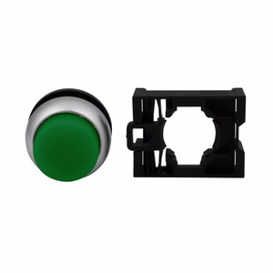 Eaton M22-DLH-G Extended Pushbutton, M22, Green