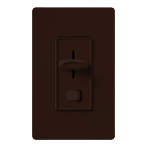 Lutron SCL-153P-BR LED/CFL Slide Dimmer, Single Pole/3-Way