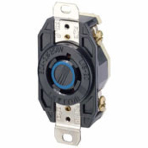 Leviton 2420 Locking Receptacle, 20A, 3PH 250V, L15-20R, 3P4W
