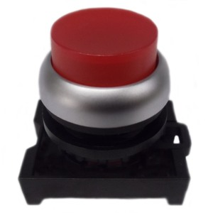 Eaton M22-DLH-R Pushbutton, Extended, Red, M22, Operator Only, Illuminated