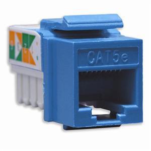 DataComm Electronics 20-3425-BL Cat 5e, Snap-In, Blue