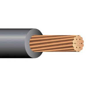 Multiple XHHW250STRBLK500RL 250 MCM XHHW Stranded Copper, Black, 500'