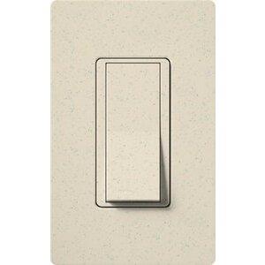 Lutron SC-1PSNL-LS General Purpose Switch, Claro Series, Limestone