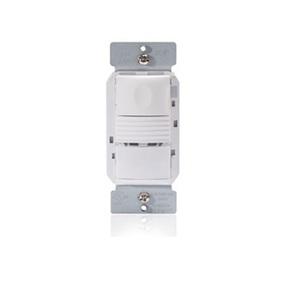 Wattstopper PW-301-W PIR Occupancy Sensor/Switch, White w/ Neutral