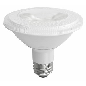 TCP LED12P30SD30KFL Dimmable LED Lamp, PAR30S, 12W, 120V, FL40