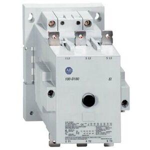Allen-Bradley 100-D180D11 Contactor, IEC, 180A, 3P, 120VAC Coil, 1NO/NC