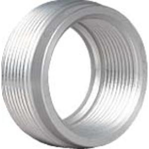 """Hubbell-Killark R-106 Reducing Bushing, Threaded, 4"""" x 2"""", Aluminum"""