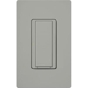 Lutron MRF2-8ANS-120-GR Wireless Switch, 3/6A, Digital, Maestro, Gray
