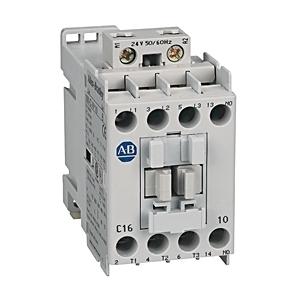 Allen-Bradley 100-C40D400 Contactor, IEC, 40A, 4P, 120VAC Coil, 4NO/0NC