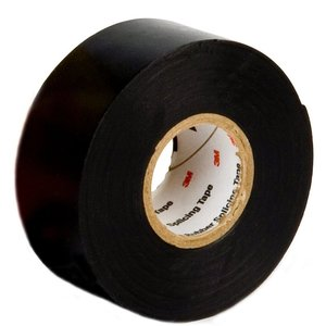 "3M 130C-2X30FT Linerless Rubber Splicing Tape, 2"" x 30'"