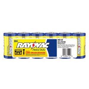 Rayovac HD-DD SIZE D HD INDUST BATT