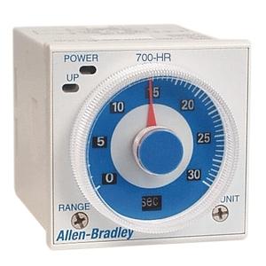 Allen-Bradley 700-HR52TU24 Timing Relay, Multi Function, 11-Pin, 24-48VAC, 12-48VDC, 2PDT