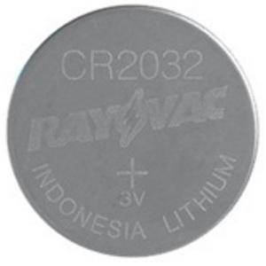 Rayovac KECR2032-1 Lithium Keyless Entry Battery, 3V, 2032