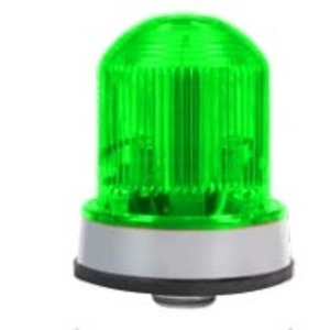 Edwards 125LEDSG120AB Beacon, Type: Steady-On LED, Voltage: 120V AC, 0.097A, Green