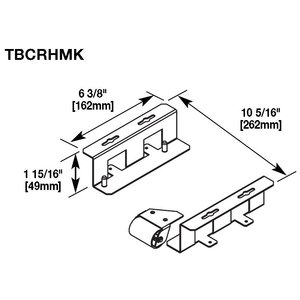 Wiremold TBCRHMK HORIZONTAL MOUNTING KIT
