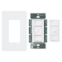 Lutron P-PKG1W-WH Caseta Wireless Wall Dimmer and Pico Remote