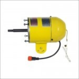 Jan Fan JF-110V-HEM Motor, 1/4 HP, High Efficiency, 115V, 2 Speed Switch