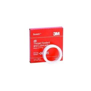 "3M 48-1/2X260 Thread Sealant & Lubricant Tape - 1/2"" x 260"""