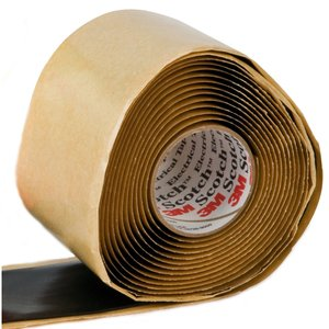 "3M 2228-1X10FT Vinyl Mastic Roll, 1"" x 10'"