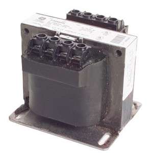 GE 9T58K4500 Transformer, Industrial Control, 50VA, 208 - 120VAC, 1PH, Type K