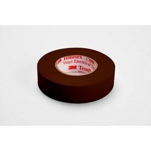 """3M 1700C-BROWN Vinyl Electrical Tape, Brown, 3/4"""" x 66'"""