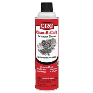 CRC 05081 A carb & choke cleaner that is designed to maximize carburetor performance. Quickly dissolves carburetor deposits such as gum, sludge & varnish to improve fuel system performance & enhance fuel economy.