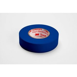 "3M 1700C-BLUE Vinyl Electrical Tape, Blue, 3/4"" x 66'"