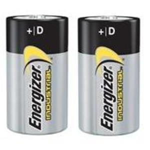 Energizer E95BP-2 1.5V D Battery - 2Pk