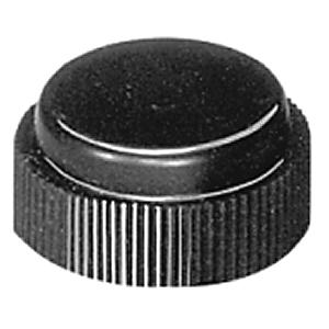 Allen-Bradley 800H-N5H Push Button, Boot, Chlorosulfonated Polyethylene, Black, 30mm