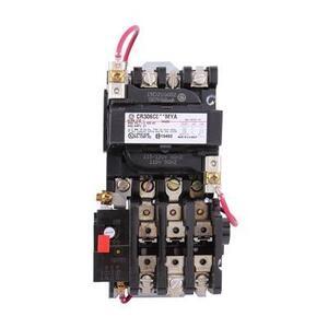 GE CR306C002MYA Starter, Magnetic, NEMA Size 1, 3PH, 120VAC Coil, 600VAC, 27A, Open
