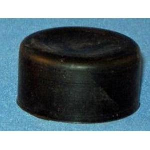 GE 080CPN Pilot Device, Protective Cap, Black Rubber, 22.5mm, Round