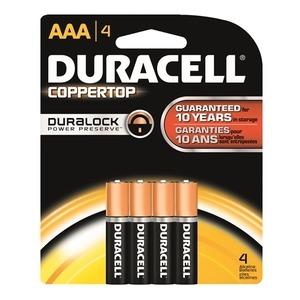 Duracell DX2400B4N DRC DC-NL-AAA-4PK DU DC NL AAA 4PK