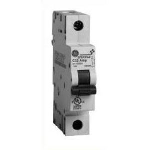 GE EP101ULH1C01 Breaker, Miniature, 1P, 1A, 120VAC, 10kAIC, DIN Rail Mount