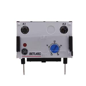 GE BETL45C Contactor, Electronic Timer, On-Delay, 1.5-45 Seconds
