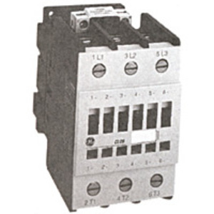 GE CL00A310TY Contactor, IEC, 10A, 460V, 3P, 600VAC Coil, 1NO Auxiliary