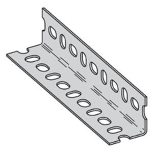 """Cooper B-Line SA158ZN120 Slotted Angle, 14 Gauge, 1-5/8"""" x 1-5/8"""" x 10' Long"""