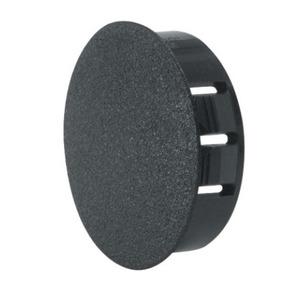 """Heyco 2703 Knockout Seal, Type: Dome Plug, Diameter: 0.875"""", Non-Metallic, Black"""