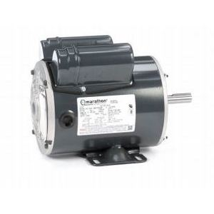 Marathon Motors X912 Motor, Continuous Duty, 1HP, 1725RPM, 115/230VAC, TENV, 1PH, 4P
