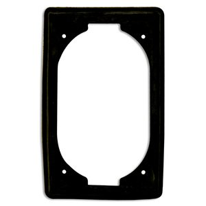 Appleton FS-GKR-1N Replacement Gasket, 1-Gang, Suitable for Wet Locations, Neoprene