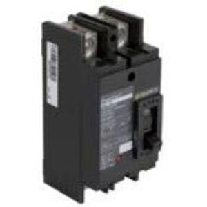 Square D QDP22100TM Breaker, Molded Case, 100A, 2P, 25kAIC, for EZM, Tenant Circuit
