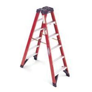 Werner Ladder T6304 4' Twin Step Ladder, 300 lbs