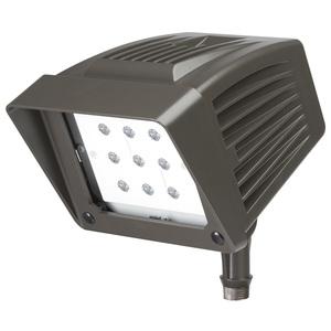 Atlas Lighting Products PFS22LED Flood Light, LED, 21.55W, 120-277V, Bronze