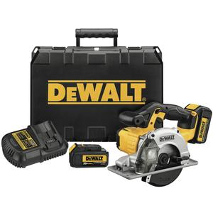 DEWALT DCS373L2 20V Metal Cutting Circular Saw Kit