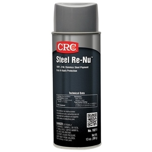 CRC 18211 Steel Re-Nu Coating - 13oz Aerosol Can