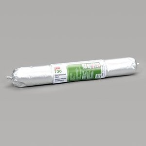 3M 730 Hybrid Adhesive Sealant, Clear, 305ml Tube