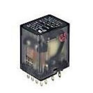 Tyco Electronics KHAU-17D12-12 Relay, Ice Cube, 5A, 14-Blade, Solder, 4PDT, 12VDC, No Options